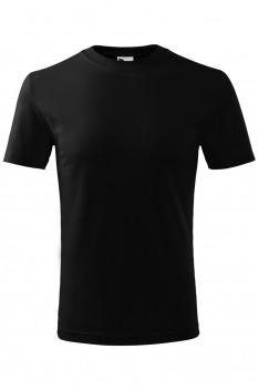 Tricou copii, bumbac 100%, Malfini Classic New, negru