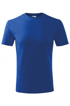 Tricou copii, bumbac 100%, Malfini Classic New, albastru regal