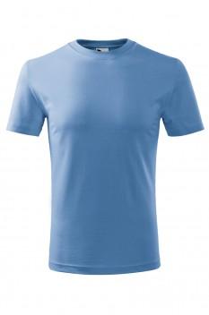 Tricou copii, bumbac 100%, Malfini Classic New, albastru deschis