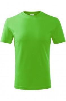 Tricou copii, bumbac 100%, Malfini Classic New, verde mar