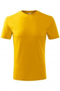 Tricou copii, bumbac 100%, Malfini Classic New, galben