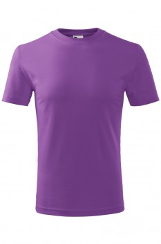 Tricou copii, bumbac 100%, Malfini Classic New, violet