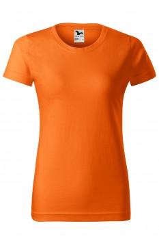 Tricou femei, bumbac 100%, Malfini Basic, portocaliu