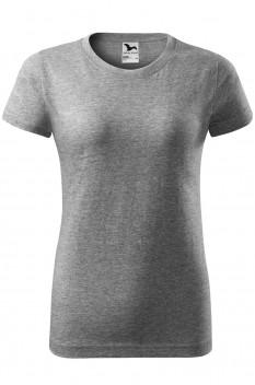 Tricou femei Malfini Basic, gri inchis