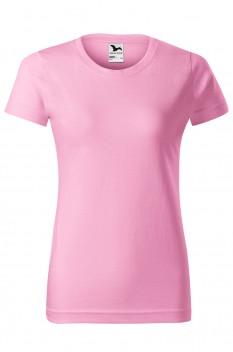 Tricou femei, bumbac 100%, Malfini Basic, roz