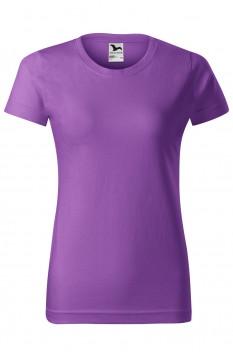Tricou femei, bumbac 100%, Malfini Basic, violet