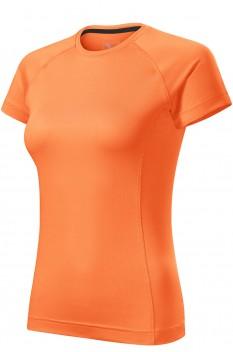 Tricou femei, Malfini Destiny, mandarina neon