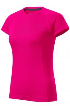 Tricou femei, Malfini Destiny, roz neon