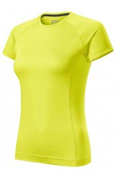 Tricou femei, Malfini Destiny, galben neon