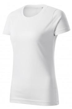 Tricou femei, bumbac 100%, Malfini Basic Free, alb
