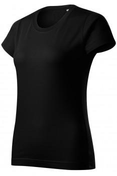 Tricou femei, bumbac 100%, Malfini Basic Free, negru