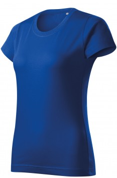 Tricou femei, bumbac 100%, Malfini Basic Free, albastru regal