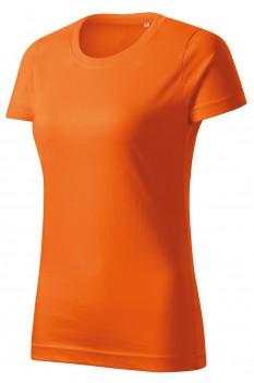 Tricou femei, bumbac 100%, Malfini Basic Free, portocaliu