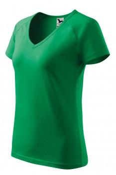 Tricou dama Dream, verde mediu