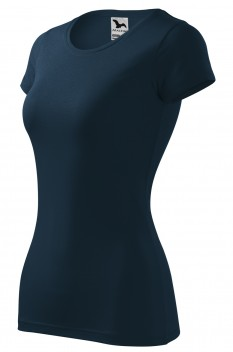 Tricou femei, Malfini Glance, bleumarin
