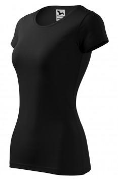 Tricou femei, Malfini Glance, negru