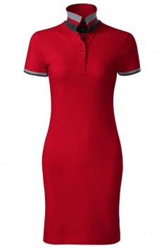 Tricou polo lung pentru femei Malfini Premium Dress Up, rosu