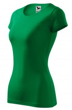 Tricou femei, Malfini Glance, verde mediu