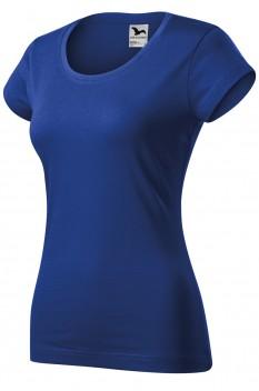 Tricou femei, bumbac 100%, Malfini Viper, albastru regal