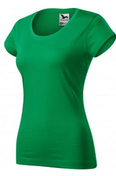 Tricou femei, bumbac 100%, Malfini Viper, verde mediu