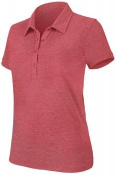 Tricou polo femei Kariban KA208, red heather