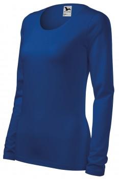 Tricou cu maneca lunga femei, Malfini Slim, albastru regal