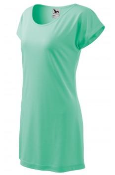 Tricou lung pentru femei Love, verde menta