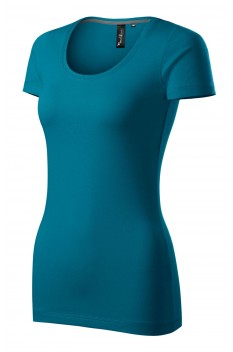 Tricou femei, Malfini Premium Action, albastru petrol