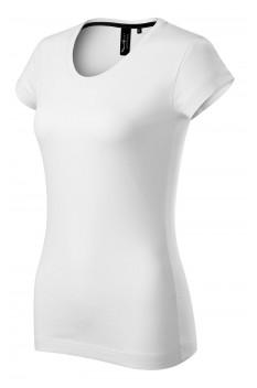Tricou femei, bumbac 100%, Malfini Premium Exclusive, alb
