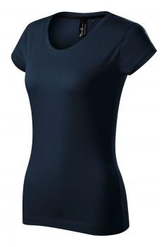 Tricou femei, bumbac 100%, Malfini Premium Exclusive, bleumarin