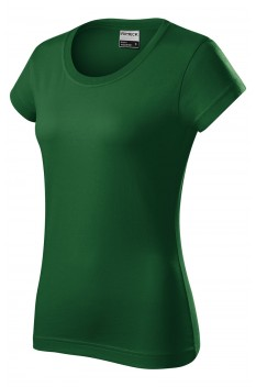 Tricou femei, bumbac 100%, Rimeck Resist, verde sticla