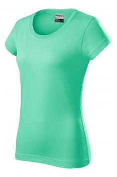 Tricou femei, bumbac 100%, Rimeck Resist, verde menta