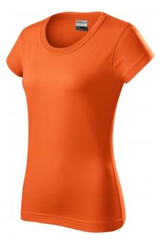 Tricou femei, bumbac 100%, Rimeck Resist, portocaliu