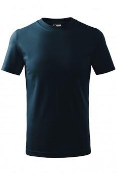 Tricou unisex, bumbac 100%, Malfini Classic, albastru marin