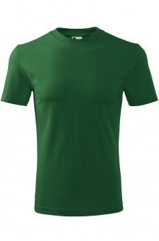 Tricou unisex, bumbac 100%, Malfini Classic, verde sticla