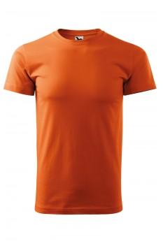 Tricou unisex Heavy New, portocaliu