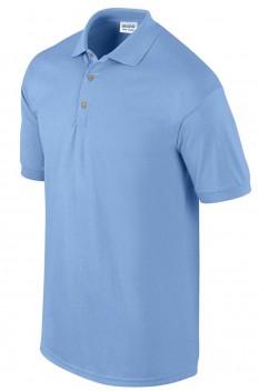 Tricou polo barbati, bumbac 100%, Gildan GI3800, Carolina Blue