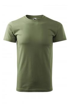 Tricou unisex, bumbac 100%, Malfini Heavy New, khaki