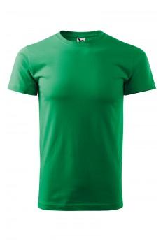 Tricou unisex, bumbac 100%, Malfini Heavy New, verde mediu