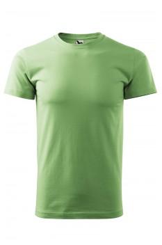 Tricou unisex, bumbac 100%, Malfini Heavy New, verde iarba