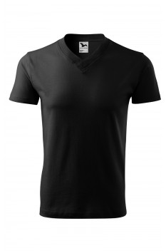 Tricou unisex V-Neck, negru