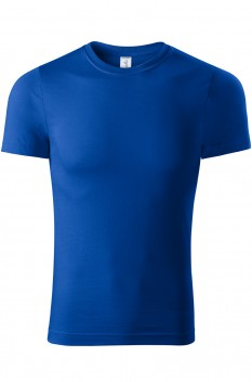 Tricou unisex, bumbac 100%, Piccolio Paint, albastru regal