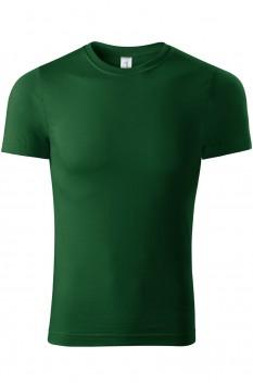 Tricou unisex, bumbac 100%, Piccolio Paint, verde sticla