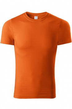 Tricou unisex, bumbac 100%, Piccolio Paint, portocaliu