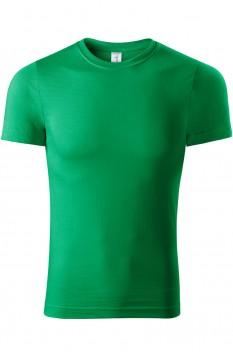 Tricou unisex, bumbac 100%, Piccolio Paint, verde mediu