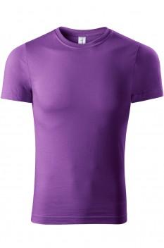 Tricou unisex, bumbac 100%, Piccolio Paint, violet