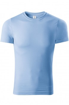 Tricou unisex, bumbac 100%, Piccolio Paint, albastru deschis