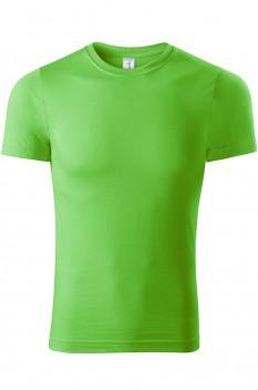 Tricou unisex, bumbac 100%, Piccolio Paint, verde mar