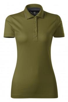 Tricou polo femei, bumbac 100%, Malfini Premium Grand, avocado green