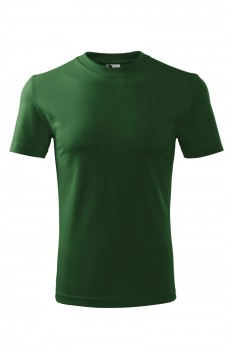 Tricou unisex, bumbac 100%, Malfini Heavy, verde sticla